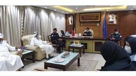 جمعية صندوق إعانة المرضى تشكر مدير أمن العاصمة العابدين على تعاونهم وجهودهم في مكافحة الكورونا