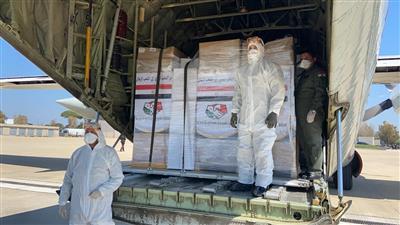 مصر.. وصول الدفعة الثانية من المساعدات المصرية إلى لبنان