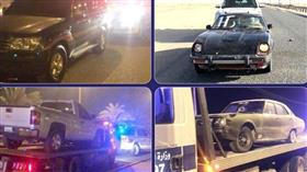 حملات مرورية مفاجئة على منطقة الوفرة وطريق الأرتال وجسر جابر وضبط العديد من المستهترين