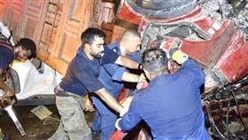 الاطفاء: 3 وفيات و5 إصابات في حادث تصادم مروع على طريق الجهراء