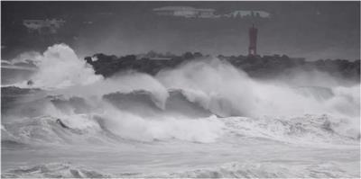 الإعصار هايشن يتجه إلى كوريا الجنوبية بعد اجتياحه اليابان
