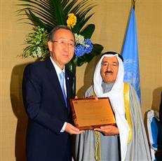 «قائد الإنسانية».. 6 أعوام على التكريم الأممي