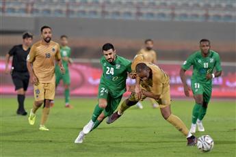 جانب من مباراة العربي مع برقان
