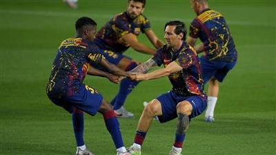 برشلونة يعلن إصابة نجمه الواعد