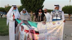 حملة عمار ياكويت نظمت احتفالية الذكرى السادسة لتقلد سمو أمير البلاد لقب قائد العمل الإنساني