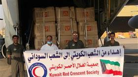 جمعیة الهلال الأحمر تعلن اقلاع طائرة الإغاثة الثالثة إلى السودان