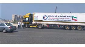 لبنان يستقبل 6 شاحنات مساعدات.. كويتية