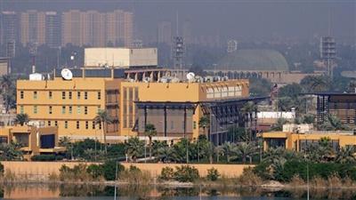 مبنى السفارة الأمريكية بالمنطقة الخضراء