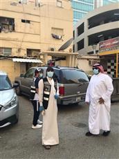 محافظ العاصمة الشيخ طلال الخالد يجري جولةً ميدانيةً على بنيد القار لتفقد أوضاع العقارات المتهالكة