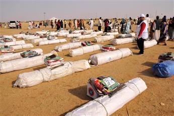 «الأحمر الكويتي»: مخيم لإيواء متضرري الفيضانات بالسودان