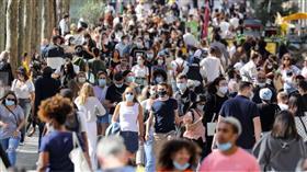 فرنسا تسجل ذروة جديدة في الإصابات بفيروس كورونا