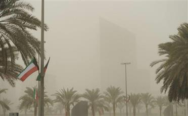 الأرصاد: طقس حار ورياح مثيرة للغبار.. والعظمى 43