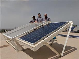 معهد الأبحاث ينال براءة اختراع عن تأثير الغبار على أداء الخلايا الشمسية