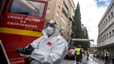 إسبانيا تسجل 4143 إصابة جديدة بكورونا