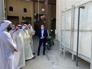 الانتهاء من محطة معالجة مياه الوضوء بسوق المباركية