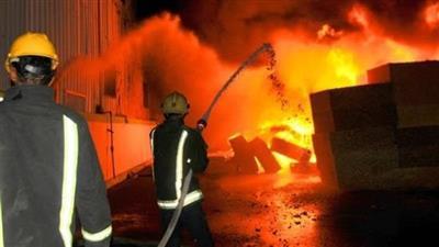 مصر.. حريق في مصنع للمواد الكيماوية بالمنوفية