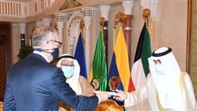 سمو نائب الأمير وولي العهد يتسلم أوراق اعتماد سفير مملكة هولندا