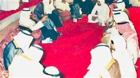 نصار الخمسان عضو اللجنة العليا في ديوانية شعراء النبط في أواسط الثمانينات