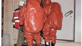 فرق الإطفاء تسيطر على تسرب لغاز الأمونيا في إحدى شركات تصنيع الثلج بالشويخ الصناعية