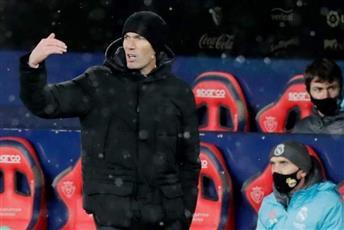 زيدان غاضبًا: لم تكن مباراة كرة قدم.. وكان يجب تأجيلها