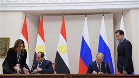 اتفاقية التعاون الاستراتيجي بين مصر وروسيا تدخل حيز التنفيذ