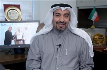 القائم بأعمال عميد كلية الاداب.  أ.د عبدالله الهاجري