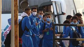 الجماهير العراقية تستقبل «الأزرق» على الحدود